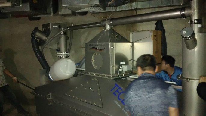 Lắp đặt hệ thống tách dầu mỡ