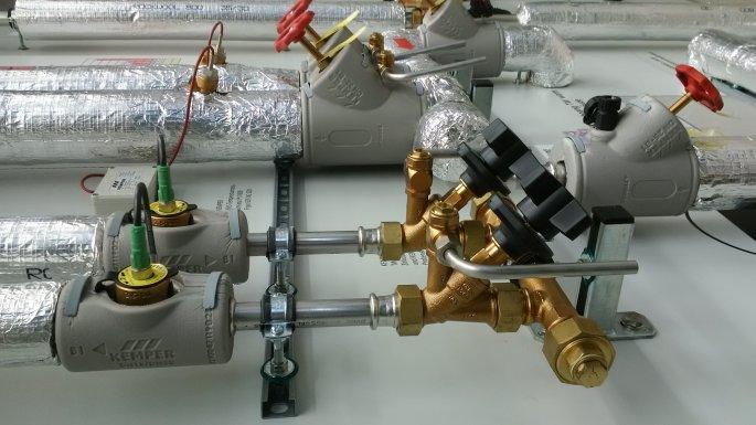 Lắp đặt van cân bằng nhiệt áp